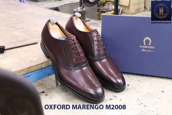 Giày da nam phong cách Oxford Marengo M2008 004