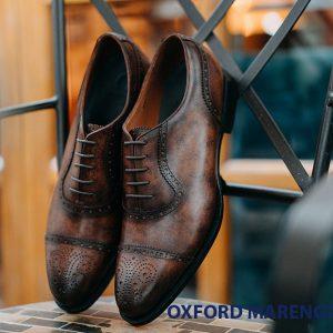 Giày tây nam buộc dây Oxford Marengo M1907 001