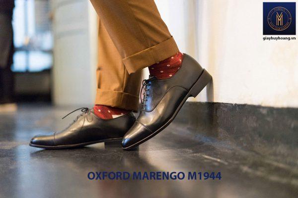 Giày da nam đế cao su Oxford Marengo M1944 001