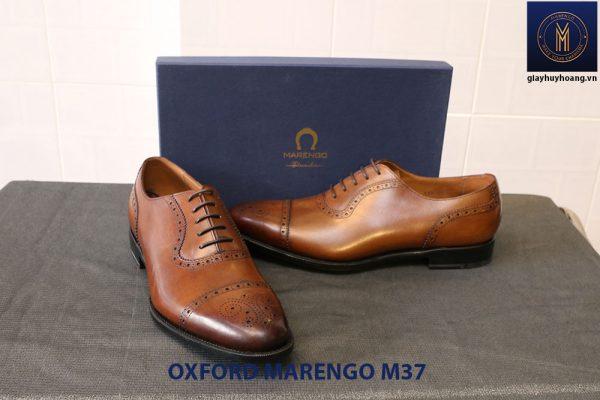 Giày tây nam da bò cột dây Oxford MArengo M37 006
