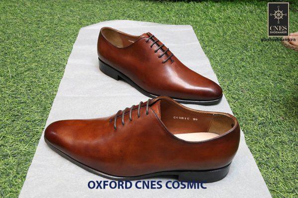 [Outlet] Giày tây nam da bò Oxford CNES cosmic Size 41 003