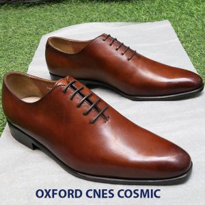 [Outlet] Giày tây nam da bò Oxford CNES cosmic Size 41 001