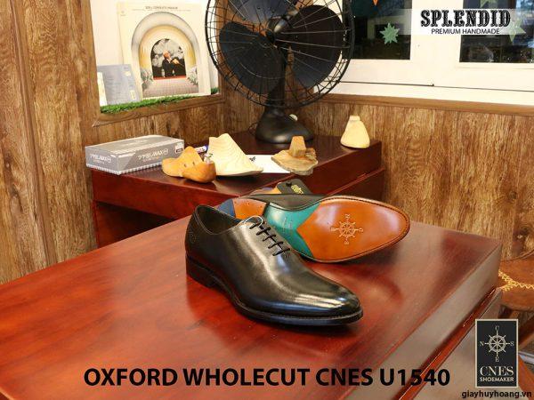 [Outlet] Giày da nam buộc dây Oxford CNES U1540 size 42 004