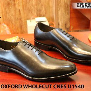 [Outlet] Giày da nam buộc dây Oxford CNES U1540 size 42 001