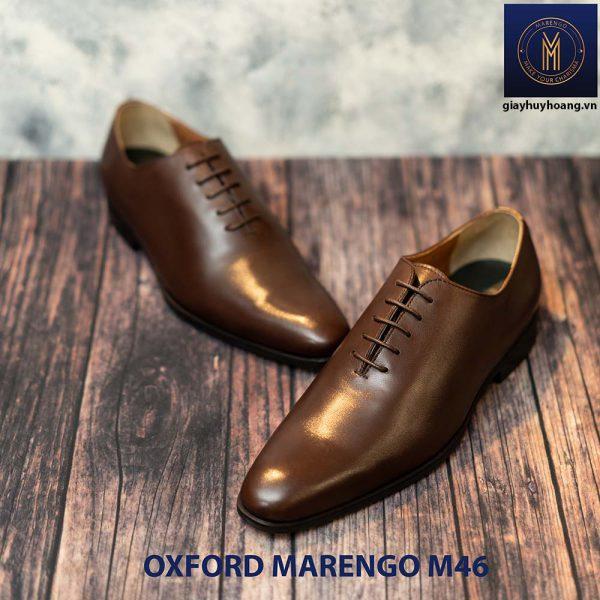 Giày tây nam da bò Oxford Wholecut Marengo M46 001