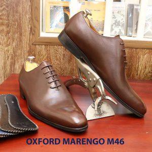 Giày tây nam da bò Oxford Wholecut Marengo M46 007