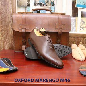 Giày tây nam da bò Oxford Wholecut Marengo M46 006