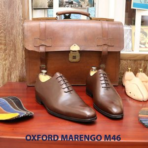 Giày tây nam da bò Oxford Wholecut Marengo M46 005