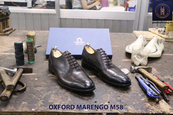 Giày tây da nam Oxford captoe Marengo M58 005