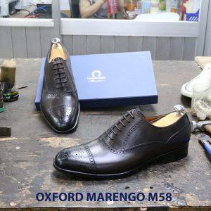 Giày tây da nam Oxford captoe Marengo M58 004