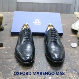 Giày tây da nam Oxford captoe Marengo M58 003