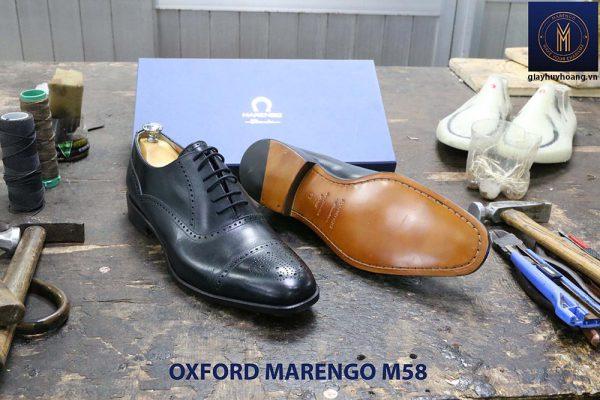 Giày tây da nam Oxford captoe Marengo M58 002