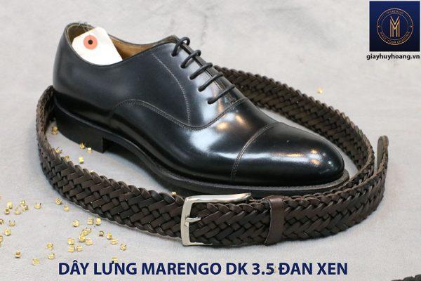 Dây nịt thắt lưng nam da đan xen Marengo 3-3.5cm 017