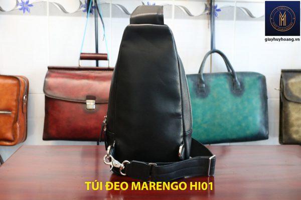 Túi bao tử đeo chéo nam da bò Marengo 006