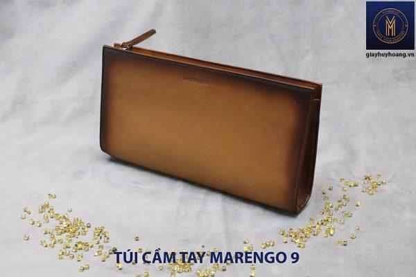 Túi cầm tay nam da bò Marengo 9 001