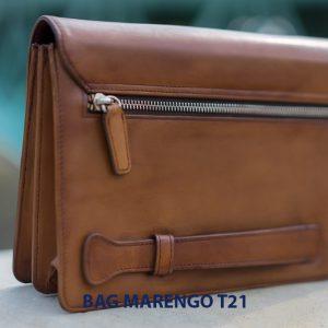 Túi cầm tay nam da bò CLUTCH Marengo T21 004