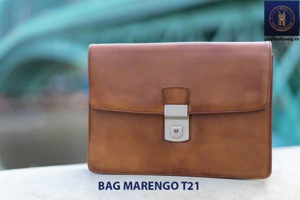 Túi cầm tay nam da bò CLUTCH Marengo T21 003