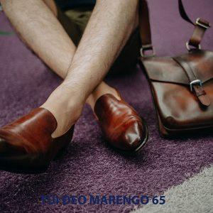 Túi đeo vai chéo nam da bò Marengo 65 006