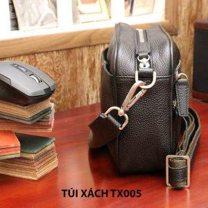 Túi đeo chéo da hột không nhăn nam CNES TX005 007