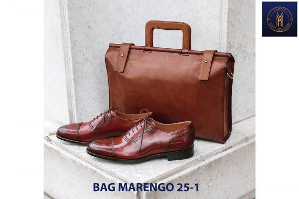 Túi xách - Cặp da bò nam thời trang Marengo 25-1 003