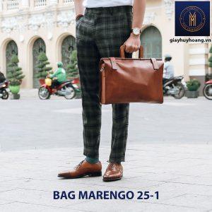 Túi xách - Cặp da bò nam thời trang Marengo 25-1 002