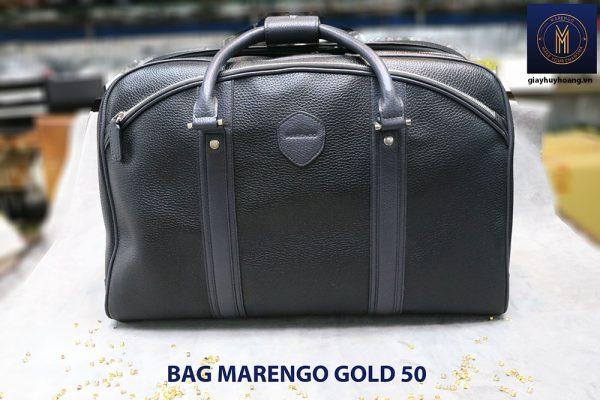Túi xách du lịch da nam Marengo Bag Gold 50 00`5