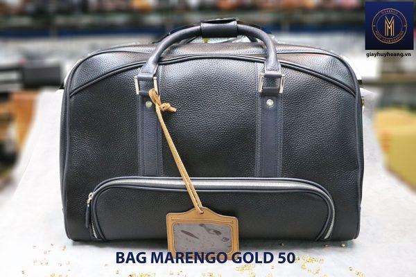 Túi xách du lịch da nam Marengo Bag Gold 50 001
