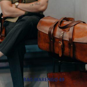 Túi xách du lịch da bò nam cao cấp Marengo 49 001