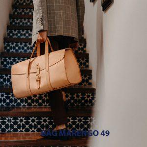Túi xách du lịch da bò nam cao cấp Marengo 49 002