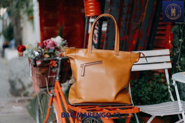 Túi xách da bò nam thời trang Marengo 12 001