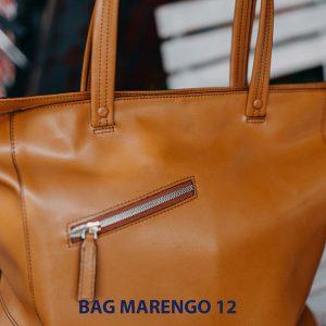 Túi xách da bò nam thời trang Marengo 12 004