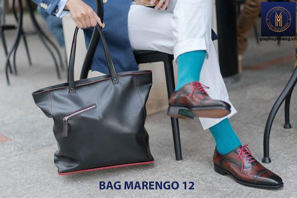 Túi xách da bò nam thời trang Marengo 12 002