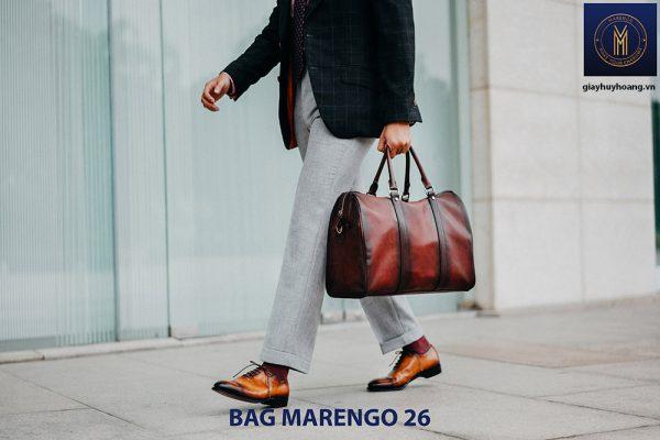Túi xách da bò nam chính hãng Marengo 26 003