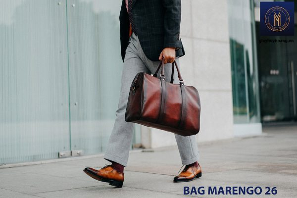Túi xách da bò nam chính hãng Marengo 26 001