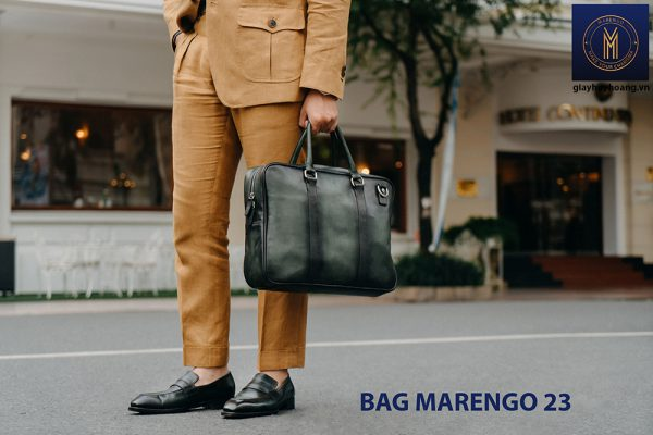 Túi xách cặp da nam công sở Marengo 23 004