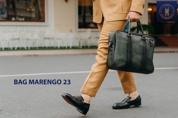 Túi xách cặp da nam công sở Marengo 23 003