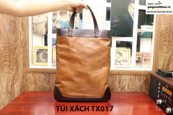 Túi xách thời trang nam dập vân CNES TX017 002