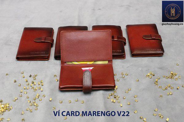 Ví đựng name card có chốt Marengo V22 003
