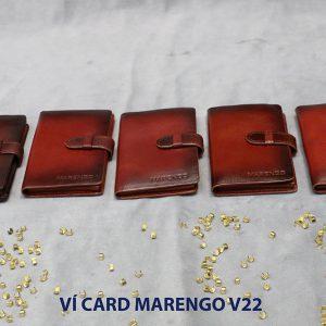 Ví đựng name card có chốt Marengo V22 001