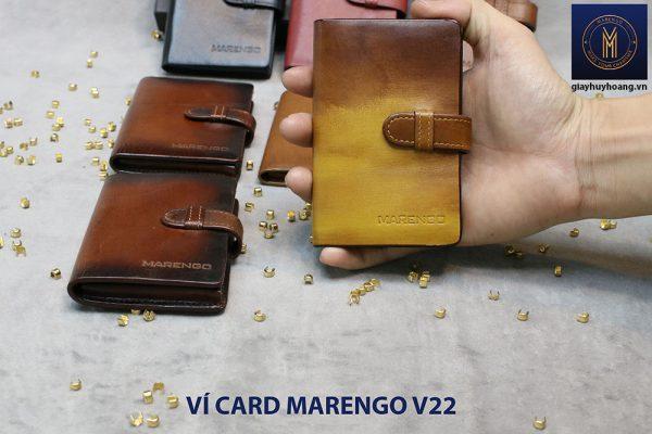 Ví đựng name card có chốt Marengo V22 006