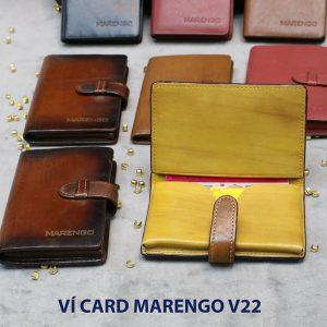 Ví đựng name card có chốt Marengo V22 005