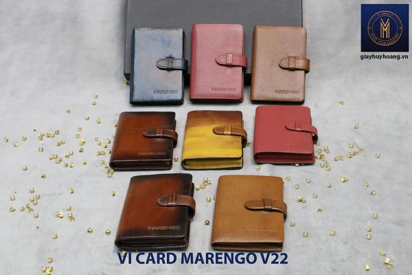 Ví đựng name card có chốt Marengo V22 004