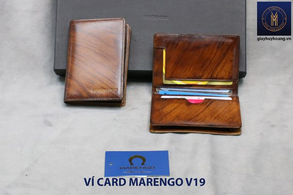 Ví đựng danh thiếp ATM Marengo V19 002