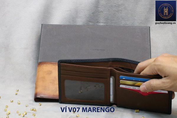 Bóp Ví cho nam cao cấp V07 Marengo 002