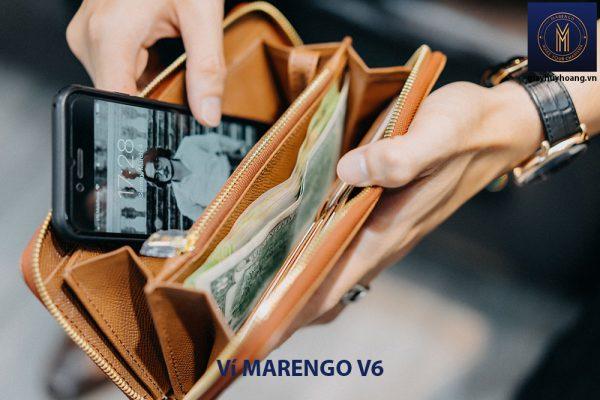 Bóp ví cầm tay nam Marengo V6 003