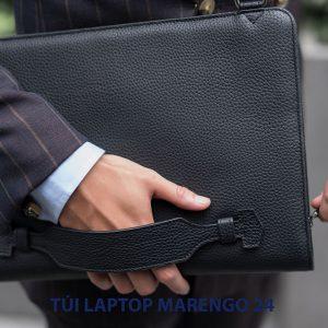 Túi da cầm tay đựng Laptop Marengo 24 001