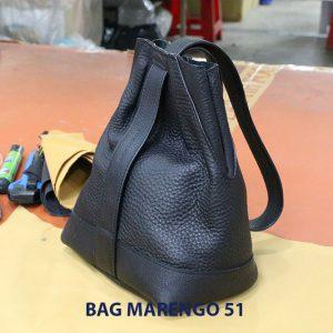 Túi xách nhỏ da bò nam Marengo 51 001