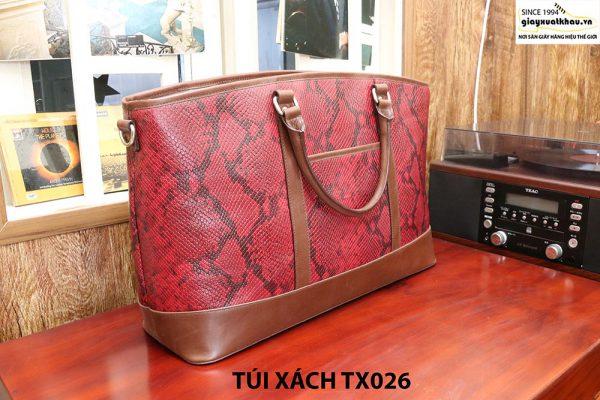 Túi xách thời trang nam dập vân CNES TX026 004