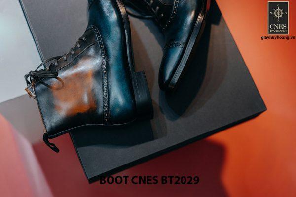Giày da nam cổ cao Boot CNES BT2029 004