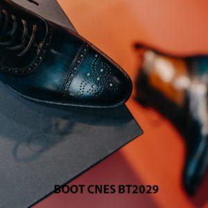 Giày da nam cổ cao Boot CNES BT2029 003